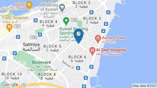 Raoum Inn Map