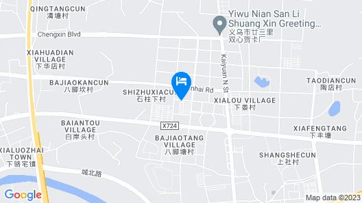 New Century Hotel Yiwu Map