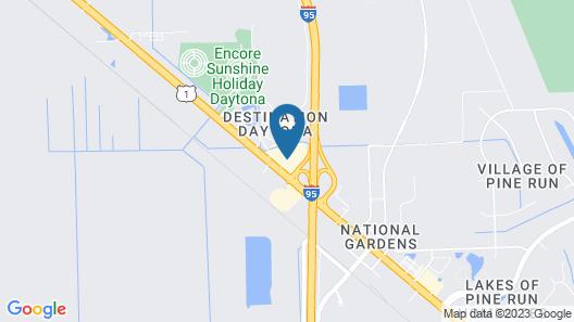 Clarion Inn Ormond Beach at Destination Daytona Map