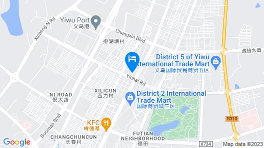 Yiwu Bai Heng Hotel Map