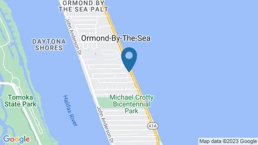 Ocean Crest Motel Map