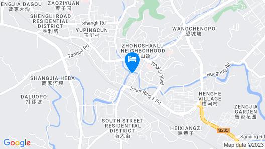 Yongchuan Hotel Map