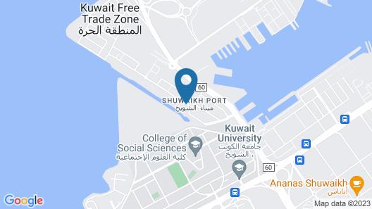 Movenpick Hotel Kuwait Map