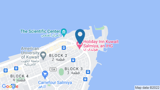 Spice Boutique Hotel Map