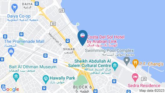Costa Del Sol Hotel Kuwait Map