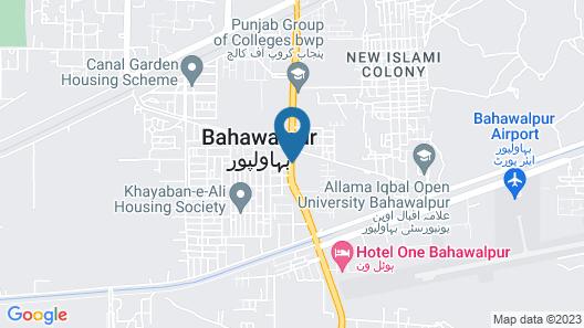 Hotel One Bahawalpur Map