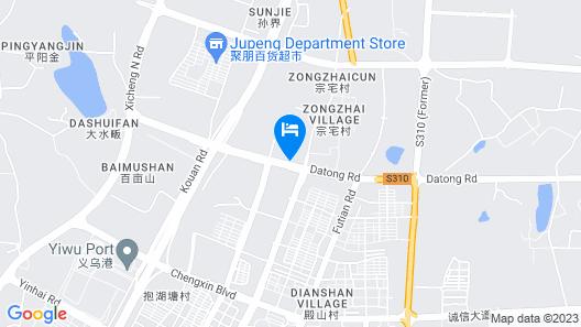 Shangri-La Yiwu Map