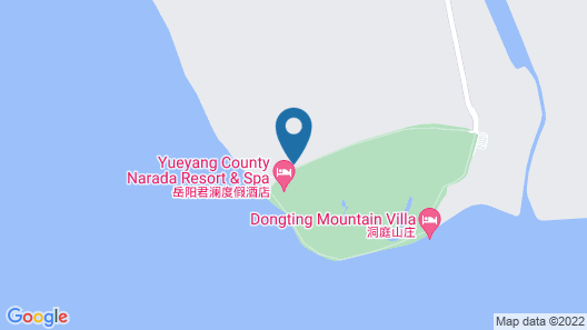 Yueyang Junshan Island Narada & Resort Map