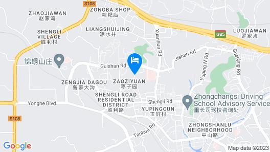 Minghao International Hotel Yongchuan - Chingqing Map