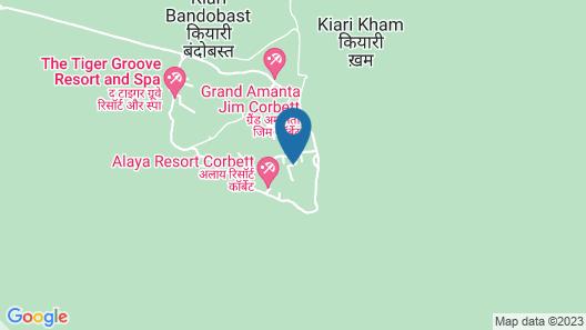 Iris Resort and Spa Map