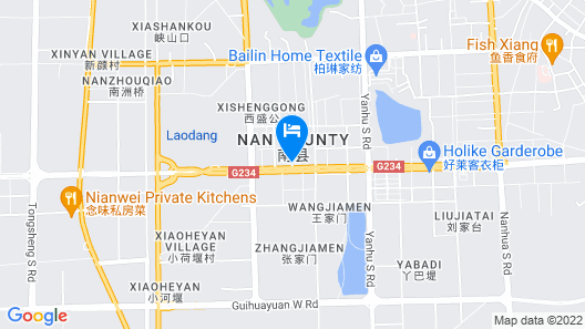 Ramada Plaza by Wyndham Yiyang Nanxian Map