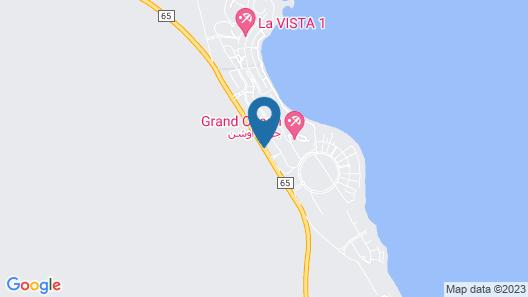 Grand Ocean Hotel & Resort Map