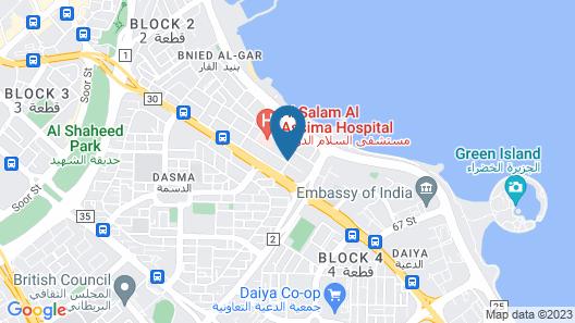 Saray Hotel Apartments Map