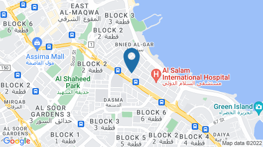 Flora Park Hotel Apartment Map