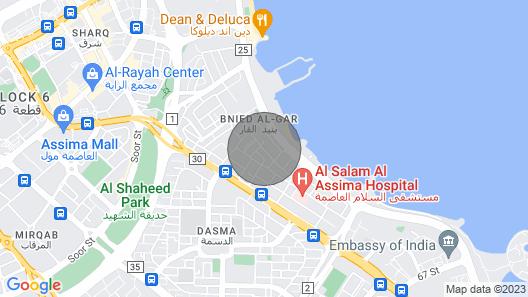 Bneid Al Gar Penthouse Map