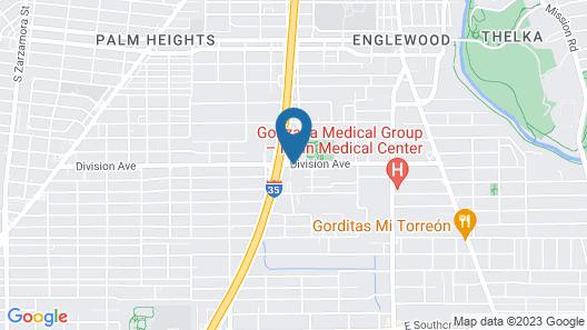 Econo Lodge Downtown South Map