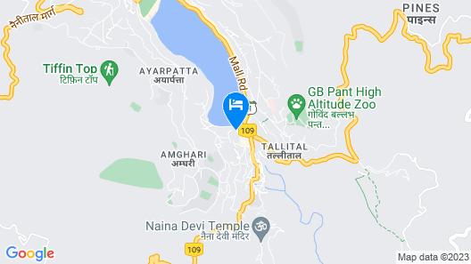 Hotel Himalaya Map