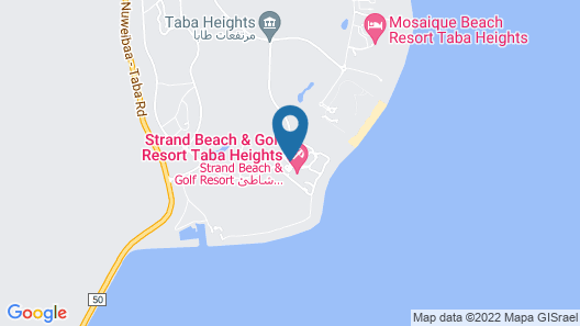 Strand Beach and Golf Taba Heights Map