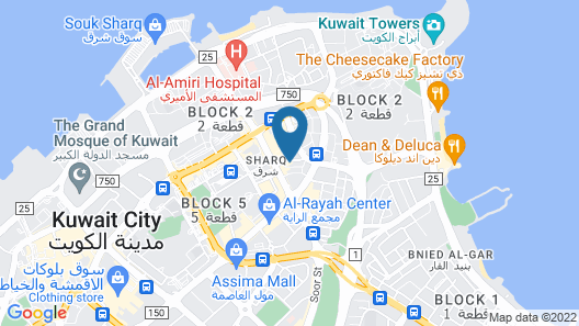 City Tower Hotel Map