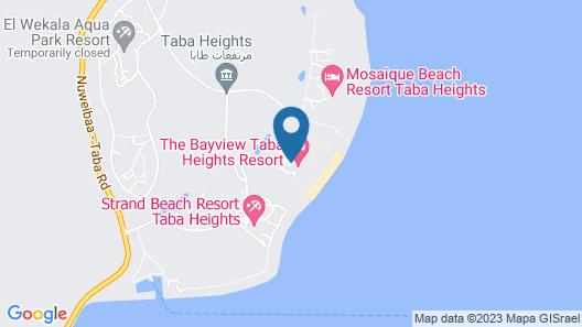 Bayview Taba Heights Resort Map