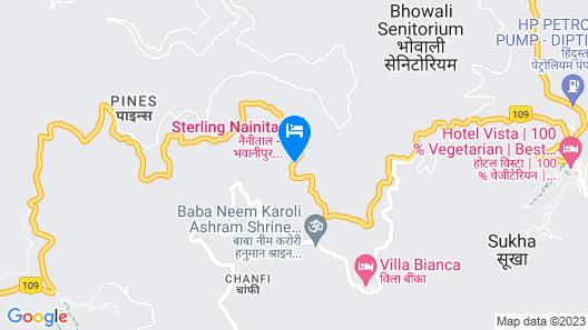 Sterling Nainital Map