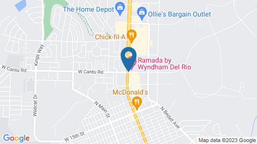 Ramada by Wyndham Del Rio Map