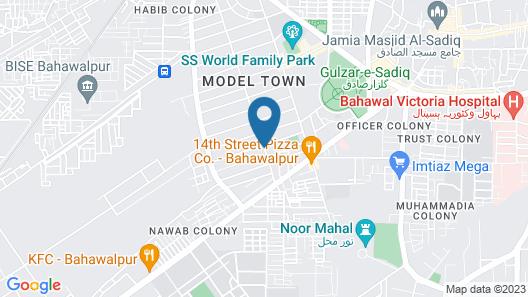 Royal Mark Hotel Bahawalpur Map
