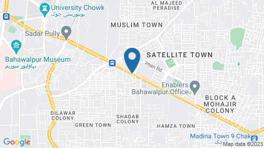 New Premier Hotel Map