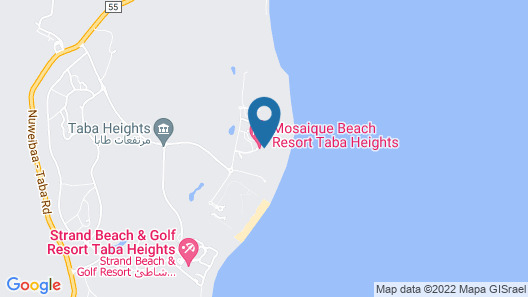 Mosaique Beach Resort Taba Heights Map