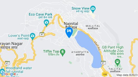 The Naini Retreat, Nainital ( by Leisure Hotels ) Map