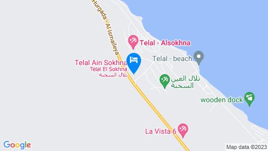 Luxury Chalet - TeLaL Ain Sokhna Map