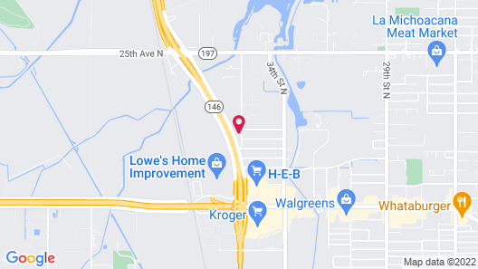 Candlewood Suites Hotel Texas City, an IHG Hotel Map