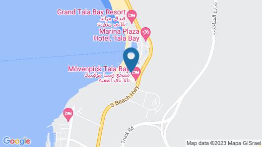 Movenpick Resort & Spa Tala Bay Aqaba Map
