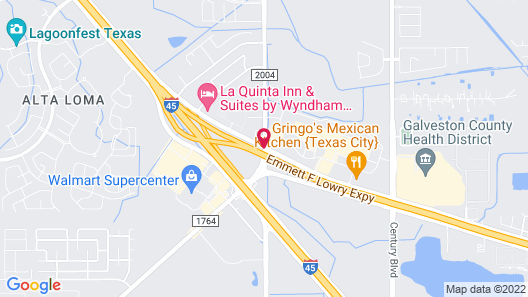 Holiday Inn Express Hotel & Suites Texas City Map