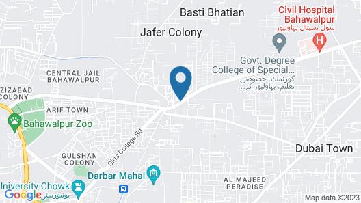 Qatar Banquet Hall & Hotel Map
