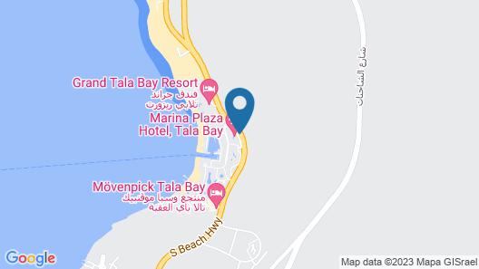 Marina Plaza Tala Bay Map