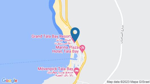 Grand Tala Bay Resort, Aqaba Map