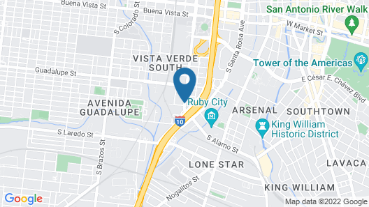 Quality Inn Downtown - near Market Square Map