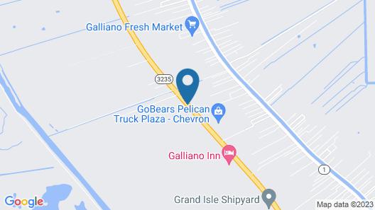 Days Inn by Wyndham Galliano LA Map