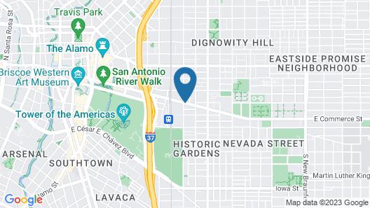 Cityview Inn & Suites Downtown/RiverCenter Area Map