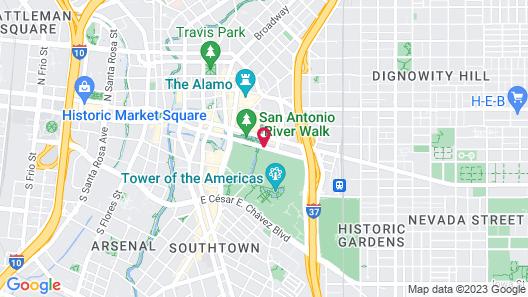 Grand Hyatt San Antonio Map