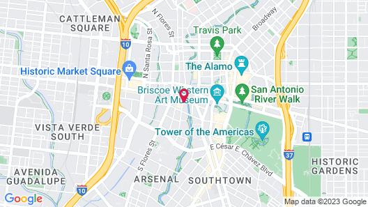 Riverwalk Plaza Map