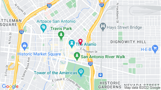 Fairfield Inn & Suites by Marriott San Antonio Alamo Plaza/Convention Center Map