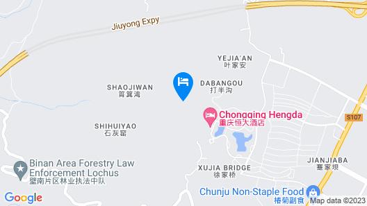 Chongqing Hengda Hotel Map
