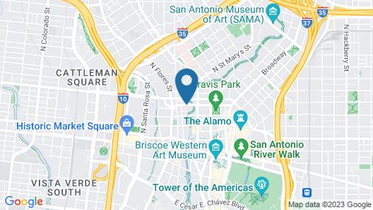 Wyndham San Antonio River Walk Map