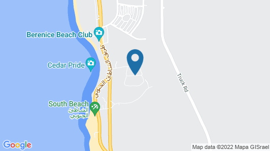 Red Sea Dive Center - Hotel & Dive Center Map