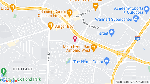 Tru by Hilton San Antonio Lackland Sea World Map