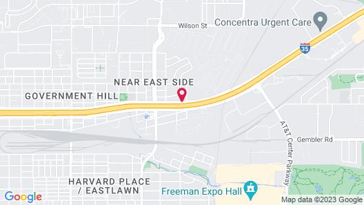 Econo Lodge Inn & Suites Downtown Northeast Map
