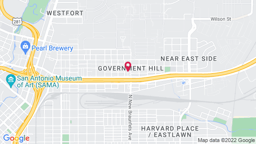 Best Western Plus Downtown North Map