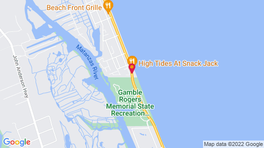 Luxury Suites on the Beach Map